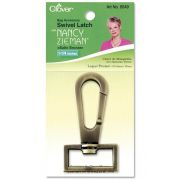 """Clover Swivel Latch 1-1/4"""" (Satin Bronze) by Clover - Hardware for Bags"""
