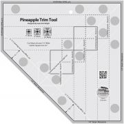 Creative Grids Pineapple Trim Tool by Creative Grids Log Cabin & Pineapple Rulers - OzQuilts