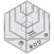 Creative Grids Hexagon Trim Tool by Creative Grids - Hexagon Rulers