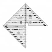 """Creative Grids 6"""" Flying Geese & 45 90 Degree Triangle Ruler by Creative Grids - Quilt Blocks"""