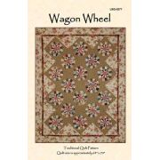 Wagon Wheel by Edyta Sitar of Laundry Basket Quilts Quilt Patterns - OzQuilts