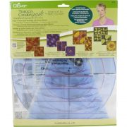 Clover Carefree Curves Templates by Clover - Quilt Blocks
