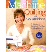 Machine Quilting with Alex Anderson by C&T Publishing Hand & Machine Quilting - OzQuilts