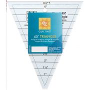 EZ Quilting 45° Triangle Ruler by EZ Quilting Triangle Rulers - OzQuilts