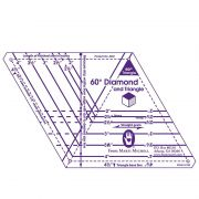 Marti Michell One Patch 60-Degree Diamond and Triangle Template by Marti Michell - Quilt Blocks