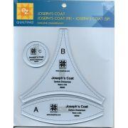 EZ Quilting Josephs Coat Templates by EZ Quilting - Quilt Blocks
