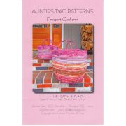 Aunties Two Freeport Gatherer Sewing Basket Pattern by Aunties Two - Bag Patterns