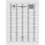 Creative Grids Curved Slotted Ruler by Creative Grids - Strip Rulers