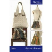 Grids and Grommets Bag by Indygo Junction - Bag Patterns