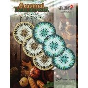 Seasonal Table Runners Pattern & Printed Foundation Papers by Quiltworx - Patterns & Foundation Papers
