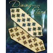 Dining with the Stars Table Runner by Quiltworx - Judy Niemeyer Quiltworx
