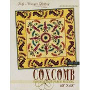 Coxcomb Quilt Pattern & Foundation Papers by Judy Niemeyer by Quiltworx - Judy Niemeyer Quiltworx