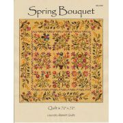 Spring Bouquet Quilt Pattern by Edyta Sitar by Edyta Sitar of Laundry Basket Quilts - Applique