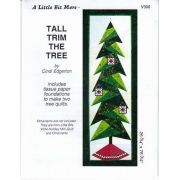 Tall Trim the Tree Pattern and Tissue Foundation Papers by A Very Special Collection - Patterns & Foundation Papers
