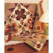 Country Whig Rose Qultl Pattern by Martingale & Company - Applique
