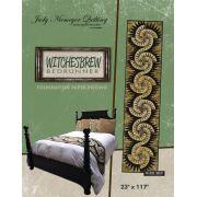 Witches Brew Bedrunner by Quiltworx - Judy Niemeyer Quiltworx