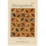 Dancing Umbrella by Edyta Sitar of Laundry Basket Quilts Applique - OzQuilts