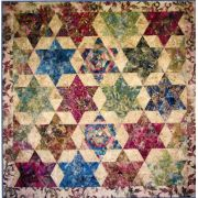 Pathway Star with Acrylic Template by Edyta Sitar of Laundry Basket Quilts Quilt Patterns - OzQuilts