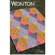 Wonton Quilt Pattern by Jaybird Quilts Quilt Patterns - OzQuilts