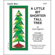 A Little bit Shorter Tall Tree Pattern and Tissue Foundation Papers by A Very Special Collection Patterns & Foundation Papers - OzQuilts