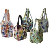 Quiltsmart Mondo Bag Pattern & Printed Interfacing Bag Kit by Quiltsmart - Bag Patterns