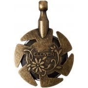Clover Antique Gold Yarn Cutting Pendant by Clover - Needle Threaders & Cutters