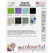 Black Beauty Quilt Pattern & Papers by Jacqueline de Jongue by BeColourful Quilts by Jacqueline de Jongue - Patterns & Foundation Papers