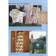 Marti Michell Encyclopedia of Patchwork Blocks: Volume 6 Six is for Hexagons by Marti Michell - Martil Michell