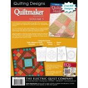 Quiltmaker's Quilting Motifs Volume 5 by Electric Quilt - Electric Quilt
