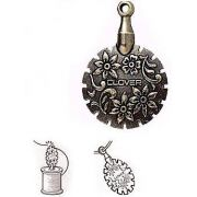 Clover Thread Cutter Pendant - Antique Gold by Clover - Needle Threaders & Cutters
