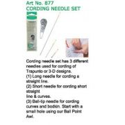 Clover Trapunto Needle Set by Clover - Hand Sewing Needles