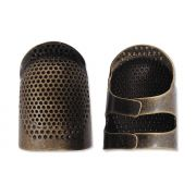 Clover Open Sided Adjustable Thimble - Medium by Clover - Thimbles