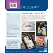 EQ Printables Cotton Lawn Inkjet Fabric Sheets (6) by Electric Quilt - Inkjet Fabric Sheets