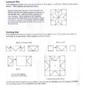 """Hoshi 12"""" Template Set by Matilda's Own - Quilt Blocks"""