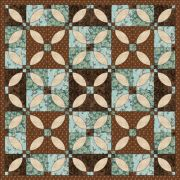 """Lovers Knot 4"""" & 8"""" Template Set by Matilda's Own - Quilt Blocks"""