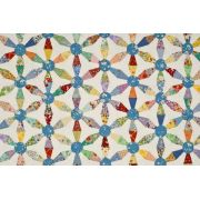Kaleidoscope Hexagon Pattern & Templates by Matilda's Own - Quilt Blocks