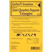 Marti Michell Quarter Square Nested Triangle Template Set by Marti Michell Quilt Blocks - OzQuilts