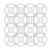 Curved 9 Patch Template Set by Matilda's Own - Quilt Blocks