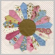 Creative Grids 20 Petal Dresden Plate Ruler by Creative Grids - Wedge Rulers
