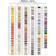Robison-Anton Rayon Embroidery Thread 1100 yards (1000 metres) by Robison-Anton Thread - Robison Anton Embroidery Thread