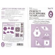 Marti Michell Template Set N, Mini Geometrics by Marti Michell Quilt Blocks - OzQuilts