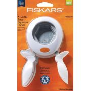 """Fiskars Hexagon Squeeze Punch Extra Large (1"""" sides) by  EPP Shape Punches  - OzQuilts"""