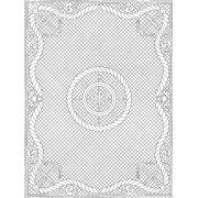 """Pre-Printed Wholecloth Quilt Top Anchors Aweigh White 40"""" x 54"""" by Benartex - Kits - Wholecloth Premarked Fabric"""