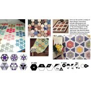 Marti Michell Template Set G - Small Hexagons by Marti Michell - Quilt Blocks