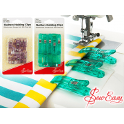 Sew Easy Quilters Wonder Clips , 20 Small Clips by Sew Easy - Wonder Clips & Hem Clips