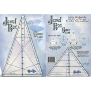 Jewel Box Gem Ten and Gem Five Rulers by Cheryl Phillips by Phillips Fiber Art - Wedge Rulers