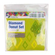 Diamond Donut Template Set by Matilda's Own - Geometric Shapes
