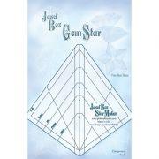 Jewel Box GemStar Ruler by Cheryl Phillips by Phillips Fiber Art - Wedge Rulers