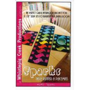 Sparks - Table Runner with Placemats pattern by Whistlepig Creek Productions - Table Toppers, Tuffets & Runners