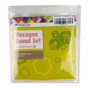 Hexagon Donut Template Set by Matilda's Own - Geometric Shapes